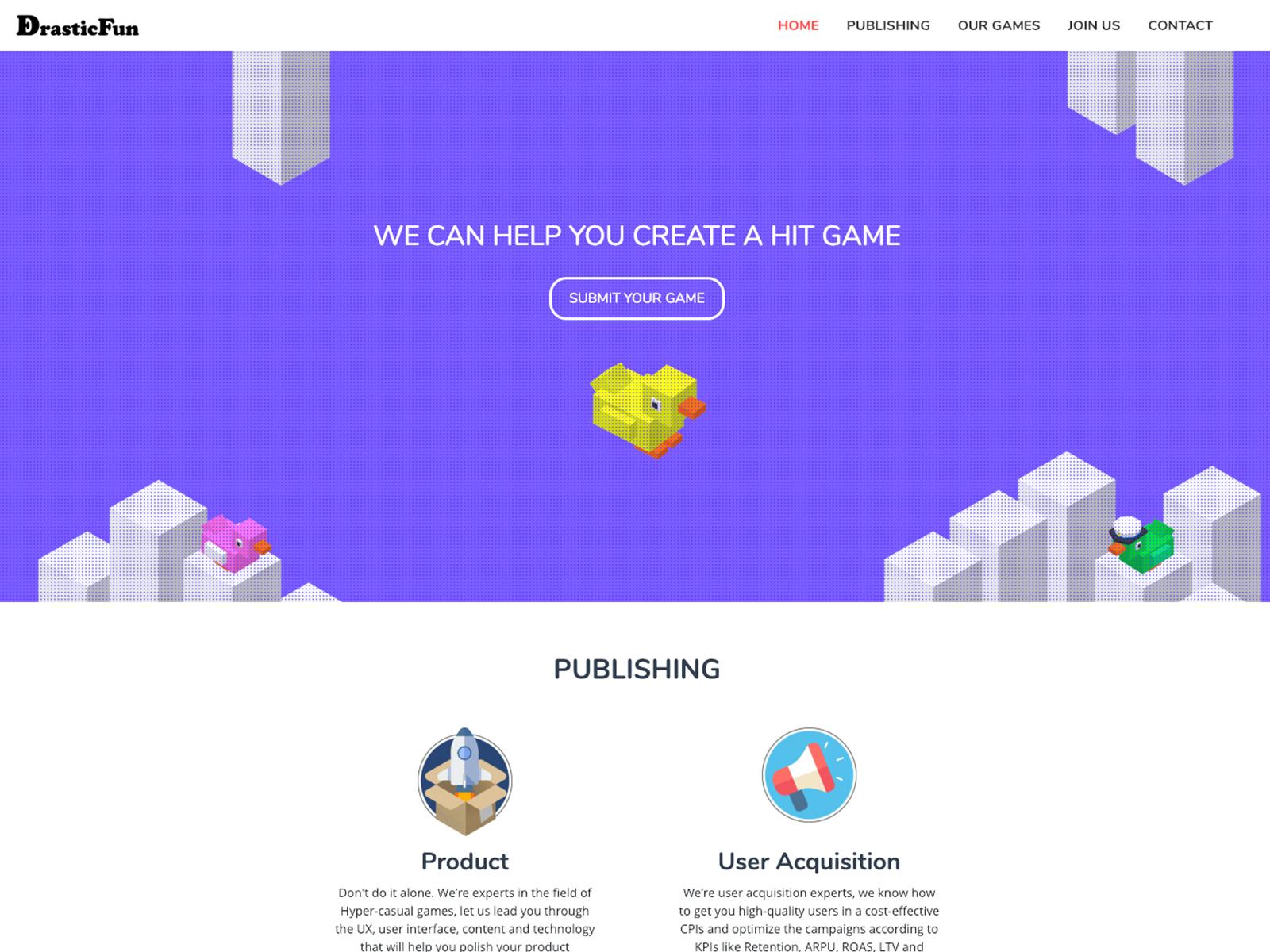 DrasticFun - Home Page