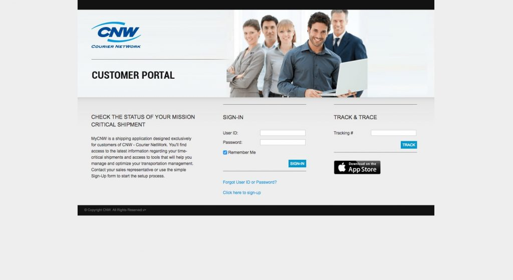 CNW - WordPress Website - Portal